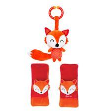 Diono Harness Soft Wraps & Linkie Toy Fox