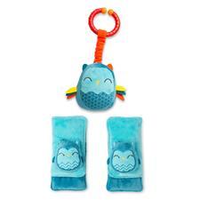 Diono Harness Soft Wraps & Linkie Toy Owl