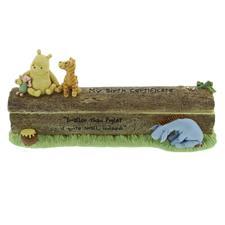 Disney Classic Pooh Heritage Birth Certificate Holder