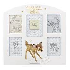 Disney Magical Beginnings Arched Collage Frame Bambi
