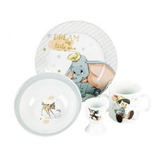 Disney Magical Beginnings Set Bowl, Plate, Mug & Egg Cup Dumbo