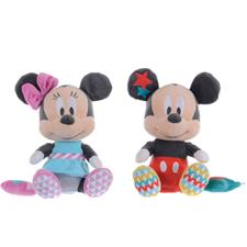 Disney Mickey & Minnie Mouse Overlap Musical Soft Toy