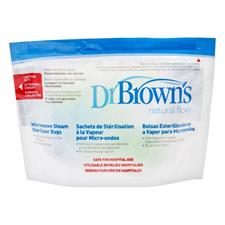 Dr Brown's Options Microwave Steriliser Bags 5Pk