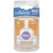 Dr. Brown's Options Teat 9m Plus 2Pk