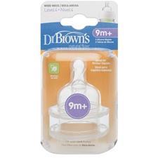 Dr. Brown's Options Teat 9m Plus 2Pk