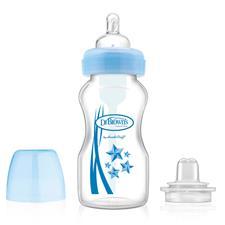 Dr Brown's Options Transition Bottle Blue 270ml