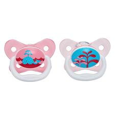 Dr Brown's PreVent Soother Pink 0-6m 2Pk