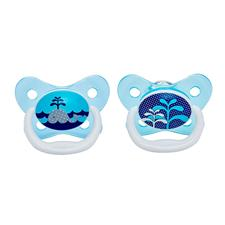 Dr Brown's PreVent Soother Sky 0-6m 2Pk