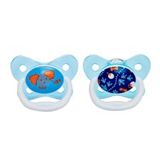 Dr Brown's PreVent Soother Sky 6-12m 2PK