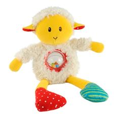 ELC Blossom Farm Spinning Rattle Lamb Toy