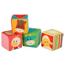 Early Learning Centre Blossom Farm Touch Feel Cubes