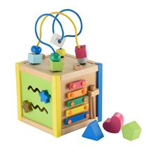 Early Learning Centre Wooden Small Activity Cube