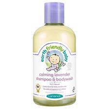 Earth Friendly Baby Organic Shampoo & Bodywash Lavender 250ml