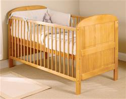 East Coast Angelina Cot Bed - Antique