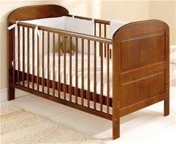 East Coast Angelina Cot Bed - Cocoa