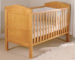 East Coast Country Cot Bed - Antique