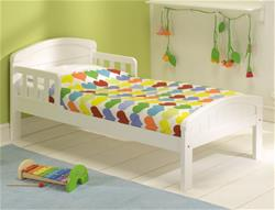 East Coast Country Junior Bed - White