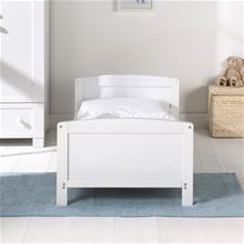 East Coast Hudson Cot Bed - White