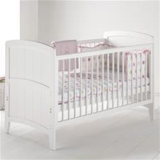 East Coast Venice Cot Bed - White