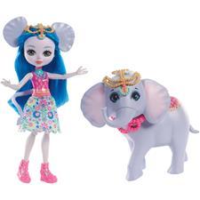 Enchantimals Large Elephant and Ekaterina Doll Storytelling Set