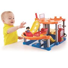 Fisher-Price Little People Rollin Ramps Garage