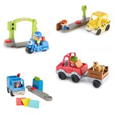 Fisher-Price Little People Small Vehicle and Figure Assortment