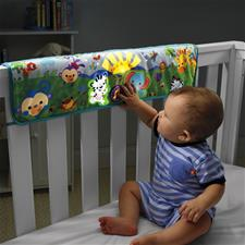 Fisher-Price Rainforest Crib Rail Soother