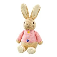 Flopsy Bunny Made with Love Knitted Toy 18cm