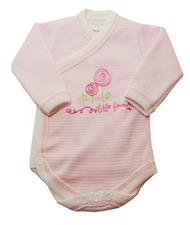 Gorgeous Gifts Crossover Little Flowers Bodysuit - 3-6mths