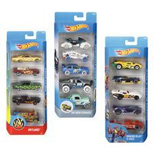 Hot Wheels Cars 5Pk