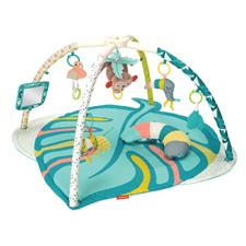 Infantino Go Gaga Deluxe Twist & Fold Activity Gym & Play Mat Tropical