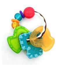 Infantino Go Gaga Slide & Chew Teether Keys