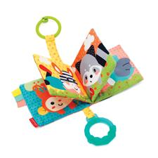 Infantino Link and Squeak Animal Crinkle Book