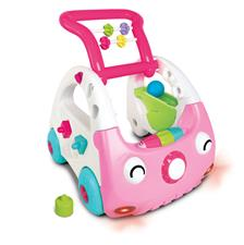 Infantino Sensory 3-in-1 Discovery Car Pink