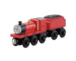 James Large Wooden Railway Engine