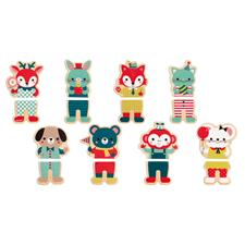 Janod Baby Forest Magnets 8Pk