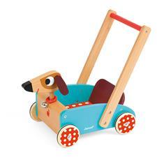Janod Crazy Cart Doggy