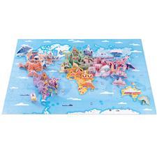 Janod Educational Puzzle World Curiosities