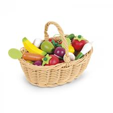 Janod Fruits And Vegetables Basket 24Pc