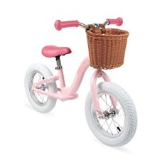 Janod Metal Vintage Bikloon Balance Bike - Pink