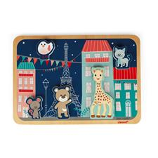 Janod Sophie La Girafe Chunky Puzzle 5pc