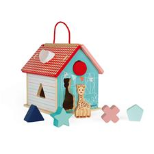 Janod Sophie La Girafe Shape Sorting House