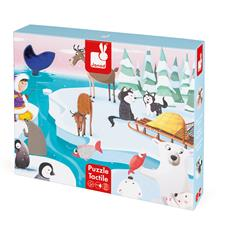Janod Tactile Puzzle Life On The Ice