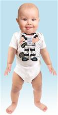 Just Add a Kid 'Most Wanted' Bodysuit - 6-12mths