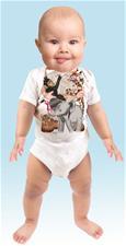 Just Add a Kid 'Wild Bunch Boy' Bodysuit - 6-12mths