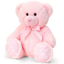 Keel Toys Baby Bear Pink 25cm
