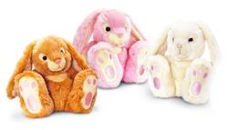 Keel Toys Patchfoot Rabbits 18cm