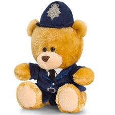 Keel Toys Pippin Policeman Bear 14cm