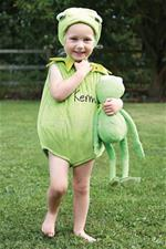 Kermit Muppet Tabard with Hat 6-12m