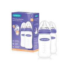 Lansinoh Feeding Bottle 240ml 2Pk